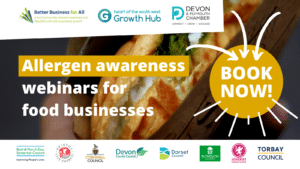 advertisement for allergen law webinars